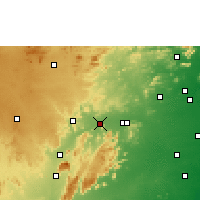 Nearby Forecast Locations - Pallikonda - Mapa
