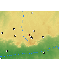 Nearby Forecast Locations - Pithampur - Mapa