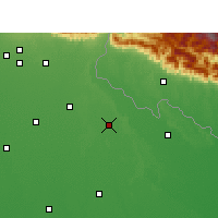 Nearby Forecast Locations - Puranpur - Mapa