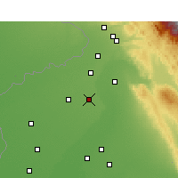 Nearby Forecast Locations - Qadian - Mapa