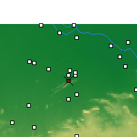 Nearby Forecast Locations - Rajgir - Mapa