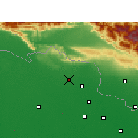 Nearby Forecast Locations - Ramnagar - Mapa