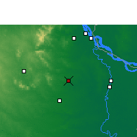 Nearby Forecast Locations - Rampurhat - Mapa