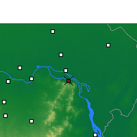Nearby Forecast Locations - Sahibganj - Mapa