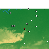 Nearby Forecast Locations - Sasaram - Mapa