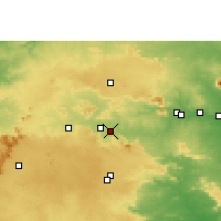 Nearby Forecast Locations - Saunda - Mapa