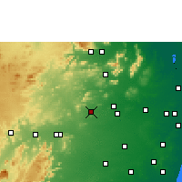 Nearby Forecast Locations - Sholinghur - Mapa