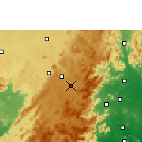 Nearby Forecast Locations - Sunabeda - Mapa