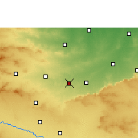 Nearby Forecast Locations - Talode - Mapa