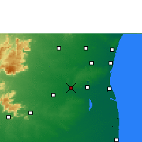 Nearby Forecast Locations - Virudhachalam - Mapa
