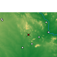 Nearby Forecast Locations - Yellandu - Mapa