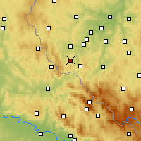 Nearby Forecast Locations - Domažlice - Mapa
