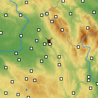 Nearby Forecast Locations - Rychnov nad Kněžnou - Mapa