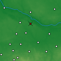 Nearby Forecast Locations - Gąbin - Mapa