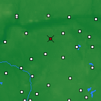 Nearby Forecast Locations - Gołańcz - Mapa