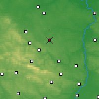 Nearby Forecast Locations - Iłża - Mapa