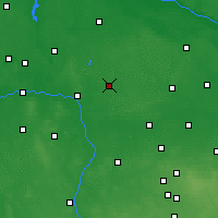 Nearby Forecast Locations - Kłodawa - Mapa