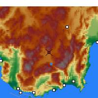 Nearby Forecast Locations - Elmalı - Mapa