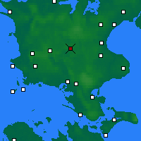 Nearby Forecast Locations - Ringsted - Mapa