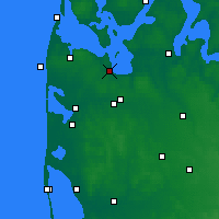 Nearby Forecast Locations - Struer - Mapa