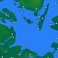 Nearby Forecast Locations - Ærøskøbing - Mapa