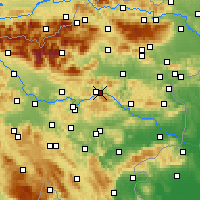Nearby Forecast Locations - Trbovlje - Mapa