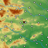 Nearby Forecast Locations - Rogaška Slatina - Mapa