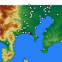 Nearby Forecast Locations - Kamakura - Mapa