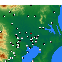 Nearby Forecast Locations - Noda - Mapa