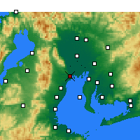 Nearby Forecast Locations - Kuwana - Mapa