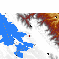 Nearby Forecast Locations - Achacachi - Mapa
