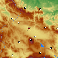 Nearby Forecast Locations - Kostinbrod - Mapa