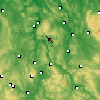 Nearby Forecast Locations - Uslar - Mapa