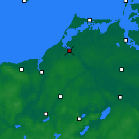 Nearby Forecast Locations - Ribnitz-Damgarten - Mapa