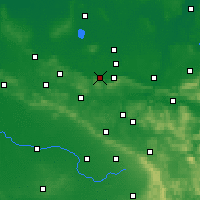 Nearby Forecast Locations - Preußisch Oldendorf - Mapa