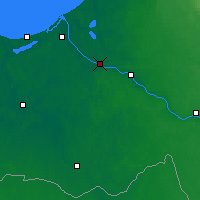 Nearby Forecast Locations - Salaspils - Mapa