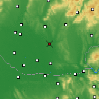 Nearby Forecast Locations - Šurany - Mapa