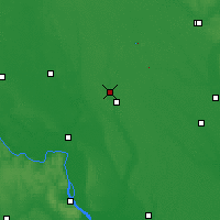 Nearby Forecast Locations - Yahotyn - Mapa