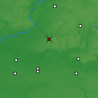 Nearby Forecast Locations - Krolevets - Mapa