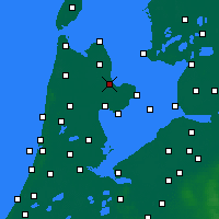 Nearby Forecast Locations - Medemblik - Mapa