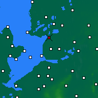 Nearby Forecast Locations - Lemmer - Mapa
