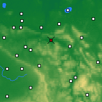 Nearby Forecast Locations - Rinteln - Mapa