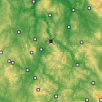 Nearby Forecast Locations - Hann. Münden - Mapa