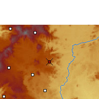 Nearby Forecast Locations - Foumban - Mapa