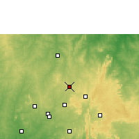 Nearby Forecast Locations - Offa - Mapa