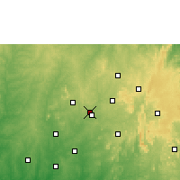 Nearby Forecast Locations - Ilobu - Mapa