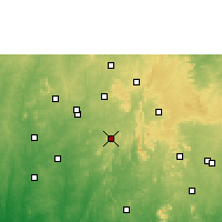 Nearby Forecast Locations - Ilesa - Mapa