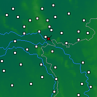 Nearby Forecast Locations - Zevenaar - Mapa