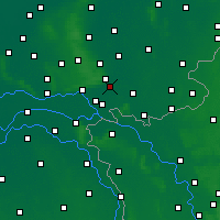 Nearby Forecast Locations - Doesburg - Mapa