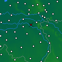 Nearby Forecast Locations - Wijchen - Mapa